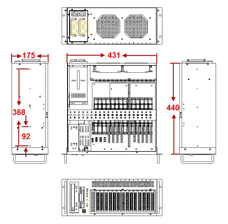 Kacer IPC4440MB