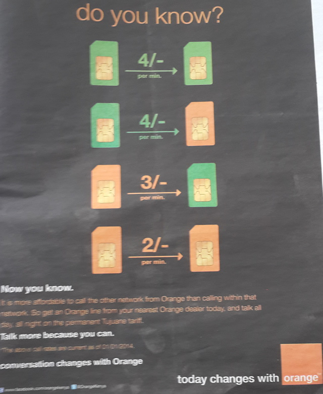 orange vs safaricom