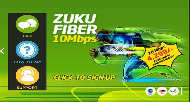 zuku speed test
