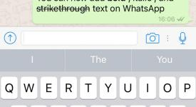 whatsapp text formatting features