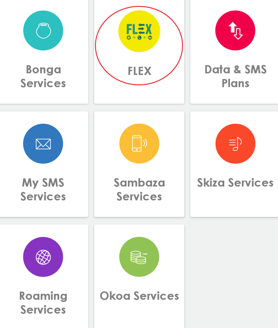 Safaricom Flex Units