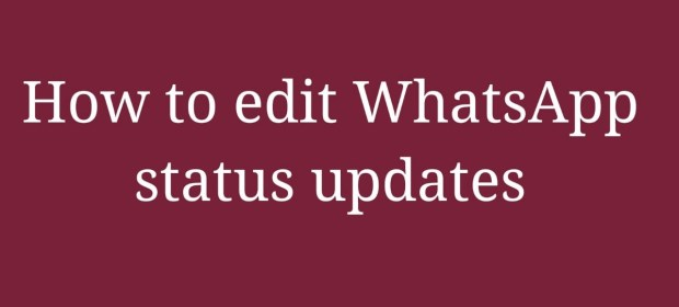 WhatsApp Status updates