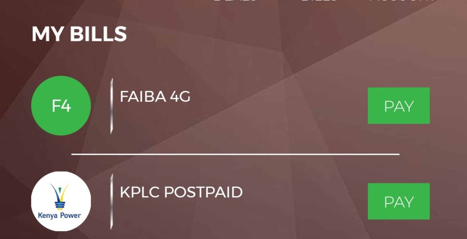 MPESA features