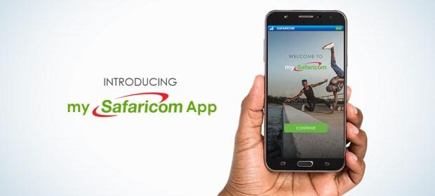 new mysafaricom app