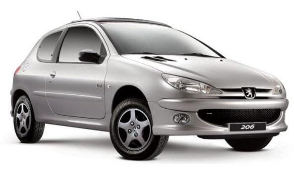 Peugeot 206 live - 2008