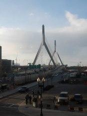 Our view of the Zakim Bridge