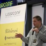 Ryan Sullivan during opening remarks at LoopConf 2018