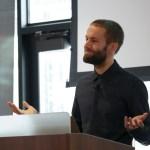 John Blackbourn presenting at LoopConf 2018