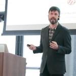 Peter Wilson presenting at LoopConf 2018