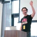 Carl Alexander presenting at LoopConf 2018
