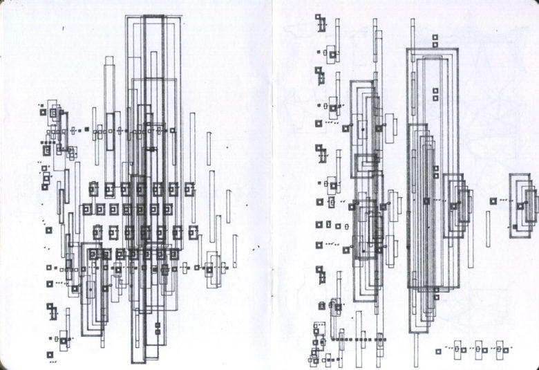 Pages 11-12 of my Sketchbook Project sketchbook