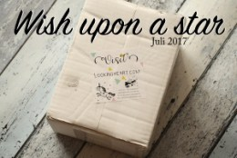 Lookingheart Unboxing Juli 2017 Wish upon a star