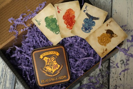 FairyLoot Unboxing Juli 2017 Tricksters Harry Potter Hogwarts Playing Cards