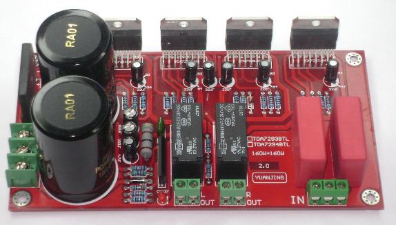 150w Sub Amp Subwoofer Amplifier Board With Heatsink Mountedin