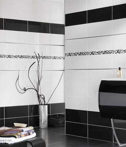 carrelage damier noir et blanc salle de bain salle de bain colore u ides sur les meubles le. Black Bedroom Furniture Sets. Home Design Ideas