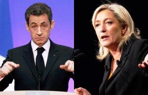 Nicolas-Sarkozy-Marine-Le-Pen