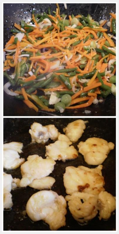 recette de légumes sautés au wok