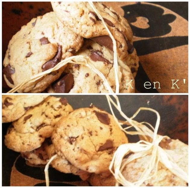 Recette de dessert-Cookies Dreck gourmand aux chocolat