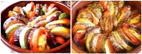 Tian de légumes en cassolette