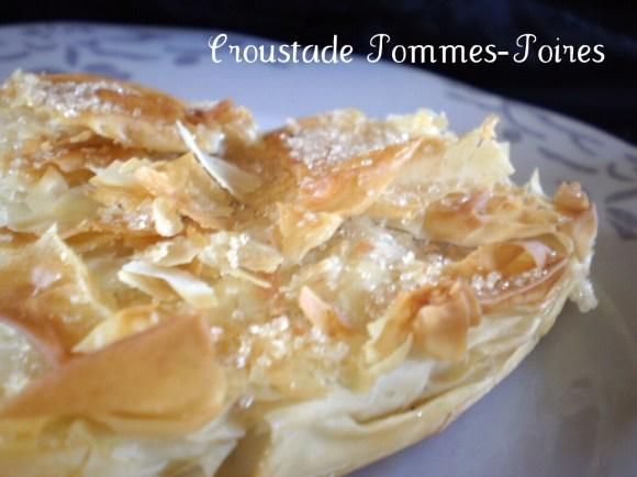 Recette bio Croustade Pommes-Poires