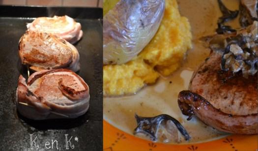 Cuisson des médaillons de veau à la plancha et purée butternut