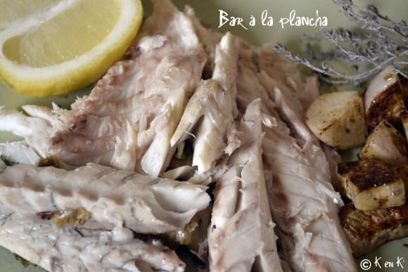 Recette de Bar à la Plancha et navets bio nouveaux, recette saine et équilibrée sur le blog de ©Kaderick en Kuizinn