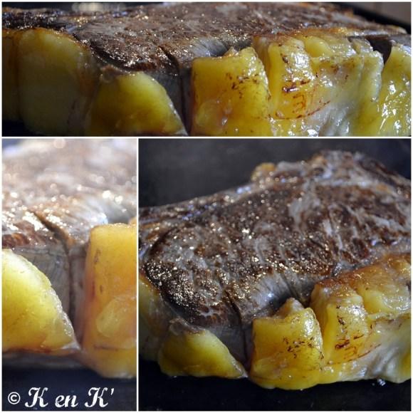 Recette et cuisson de la Côte de boeuf à la plancha