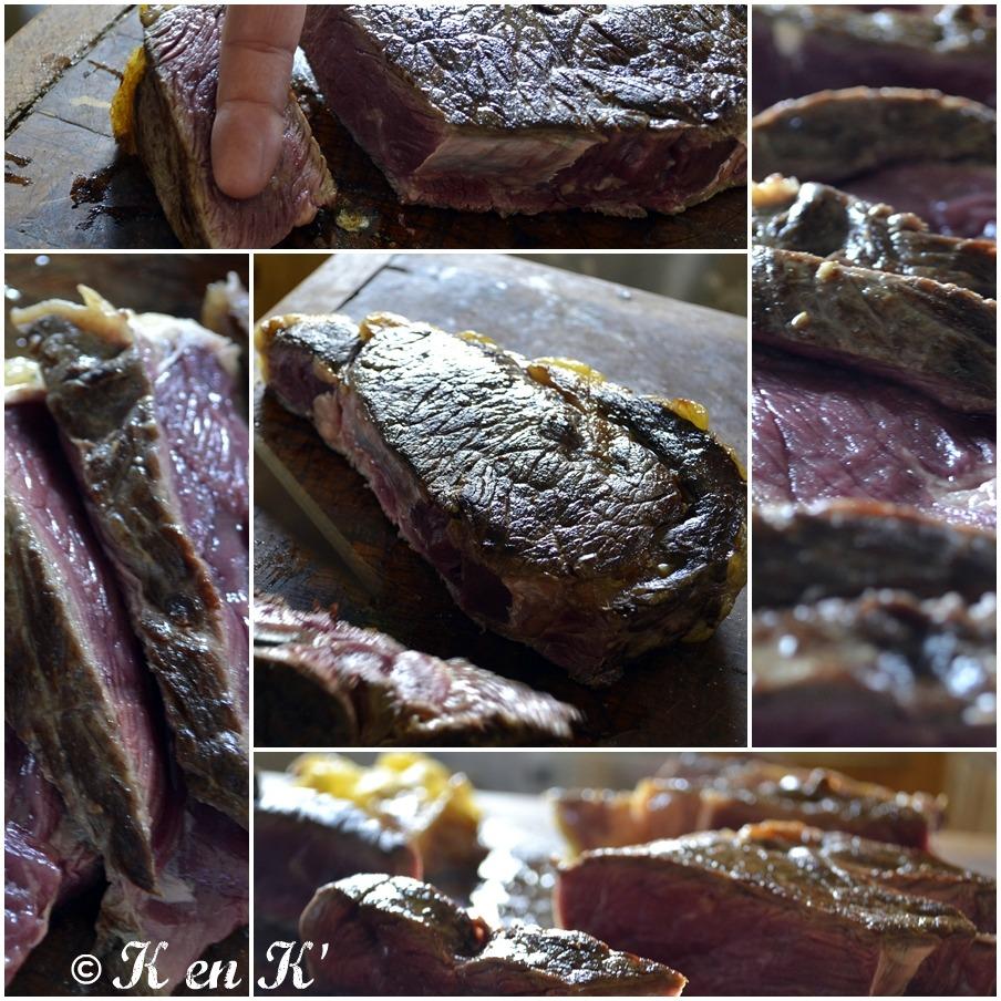 C te de boeuf la plancha et chips maison recette plancha - Temps de cuisson cote de boeuf au grill ...