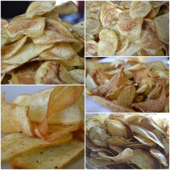 Recette et cuisson des Chips Maison pour accompagner la côte de boeuf cuite à la plancha