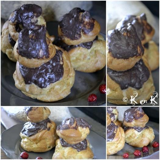 religieuse au chocolat-recette-cuisne-blog
