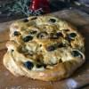 Cuisine Provençale, La fougasse aux chorizo, anchois et tomates séchées