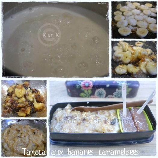 tapioca desserts recettes bento bananes