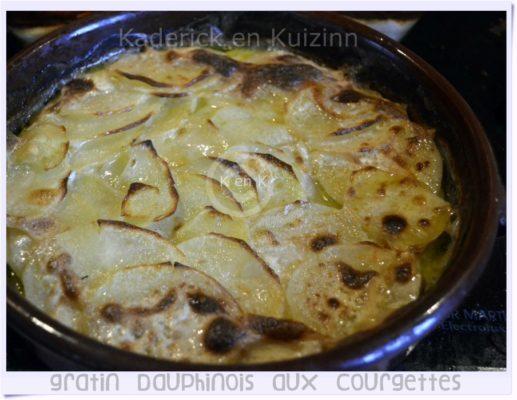 recette du gratin dauphinois aux courgettes - plat principal - légumes