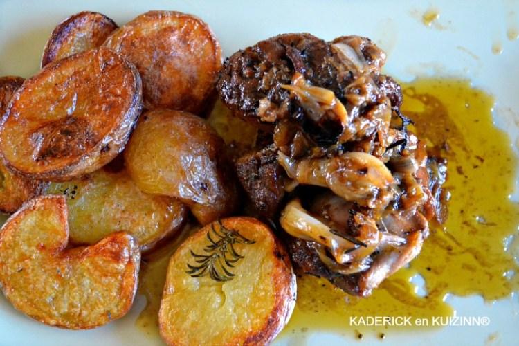 souris agneau confite pomme terre jamie oliver