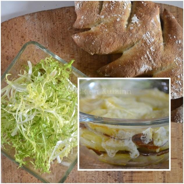 Cuisine Bio, le gratin de pomme de terre façon raclette