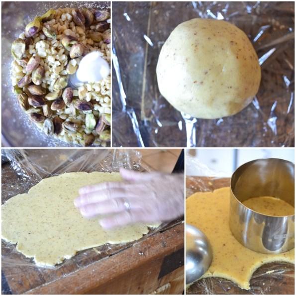 Recette des petits sables fruits secs, amandes, noix et pistaches pour culinoversion
