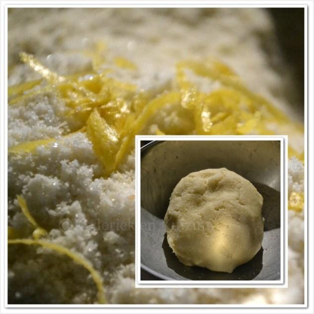 Recette des gâteaux aux amandes et zestes de citron bio