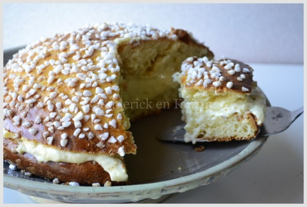 Recette de la Tarte Tropézienne avec une crème pâtissière allégée