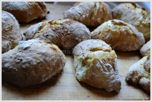 Recette des petits pains sans pétrissage avec de la farine bio