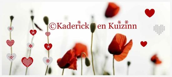 Logo du blog de cuisine de ©kaderick kuizinn avec des produits frais et bio