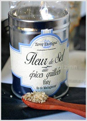Partenariat condiment - Fleur de sel aux épices grillés de Terre exotique