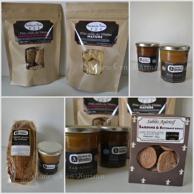 Partenariat biscuit - Présentation des produits sains et bio de la biscuiterie Vénètes