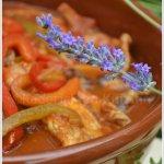Cassolette de lapin basquaise pour Culino Versions - Kaderick en Kuizinn©