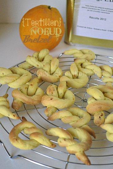 Présentation biscuits à l'huile d'olive, orange & sésame pour un goûter aux accents du Sud
