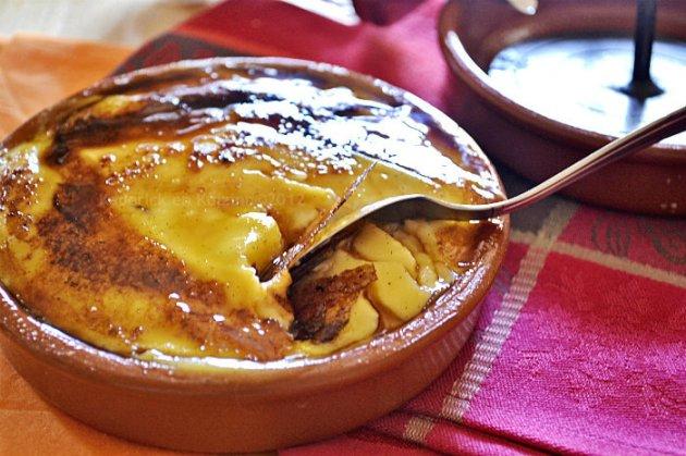 Recette crème catalane caramélisée au fer pour un dessert gourmand sur Kaderick en Kuizinn©