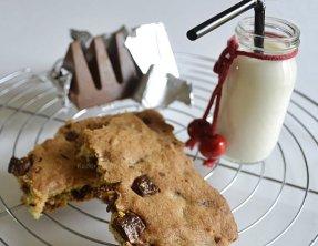 Recette du cookie géant au toblerone au lait pour un dessert ou un défi goûter des plus gourmand - Kaderick en Kuizinn©