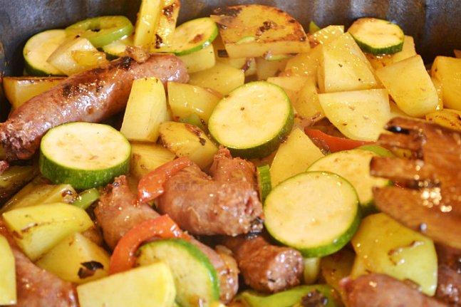 Recette chakchouka tunisienne merguez et oeuf une recette d'enfance - Kaderick en Kuizinn©