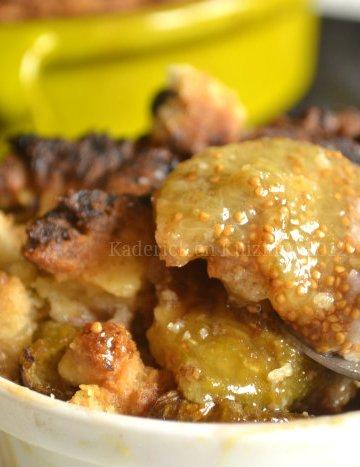 Recette crumble aux figues du jardin et noix fraîches - Kaderick en Kuizinn©