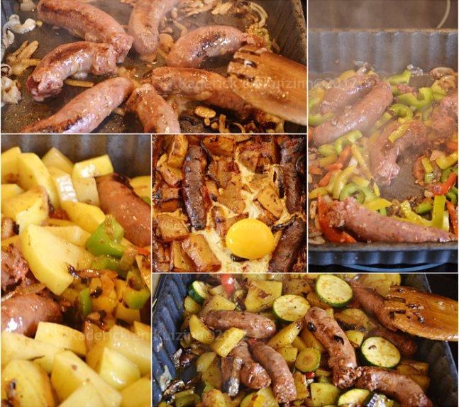 Recette facile chakchouka tunisienne merguez et oeuf une recette d'enfance - Kaderick en Kuizinn©