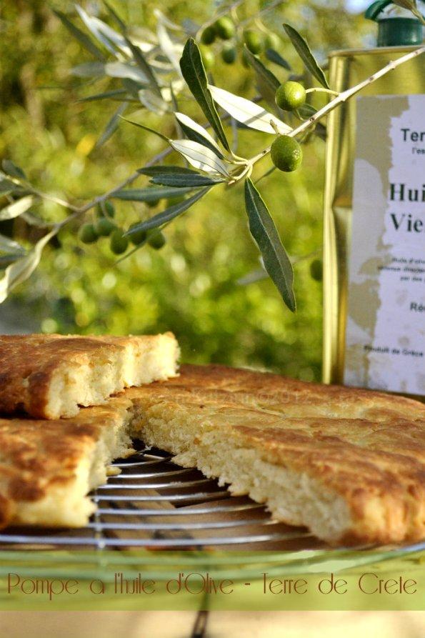 Recette facile de la pompe à l'huile d'olive pour mon partenaire Terre de Crète® - Kaderick en Kuizinn©